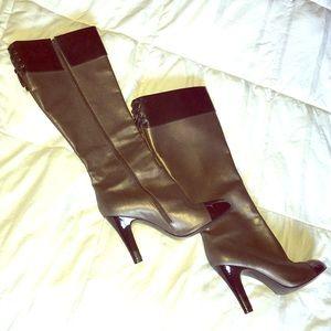 Knee high BCBG boots